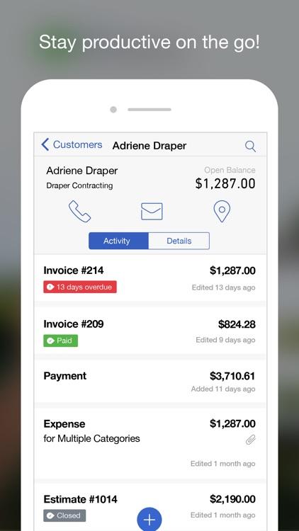 QuickBooks Accounting: Invoice, Estimate & Expense app image