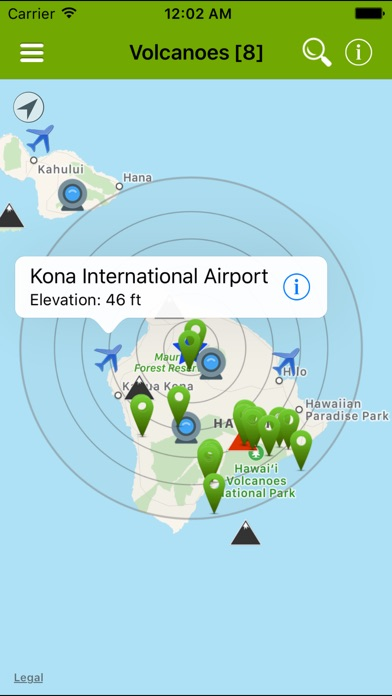 Volcanoes: Map, Alerts & Ash-2