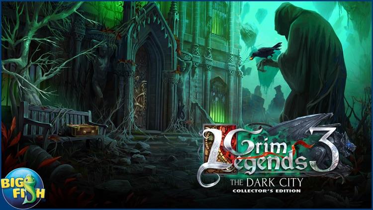 Grim Legends: The Dark City (Full) - Hidden Object screenshot-4