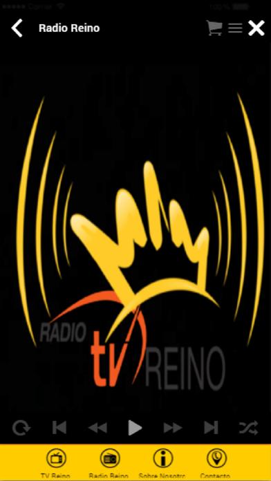Radio y TV Reino screenshot two
