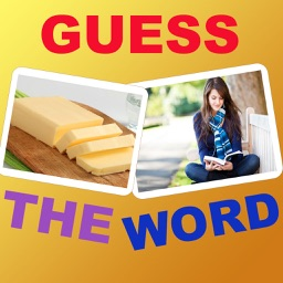 Say 2 pics, guess the word