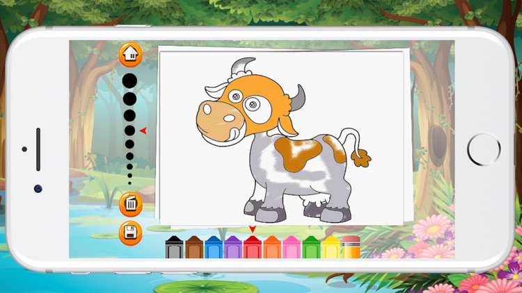 Animal Coloring Book For Children Game screenshot-4