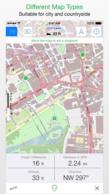 Maps 3D - Outdoor GPS screenshot-3