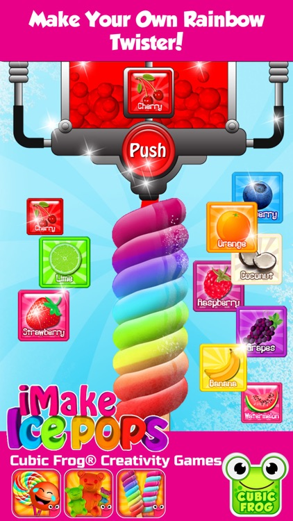 Ice Cream Maker Kitchen Games-iMake IcePops