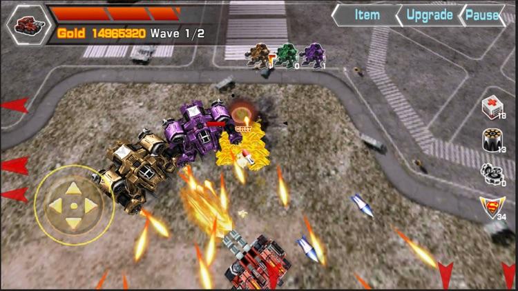 Counter Tank Battle 3D screenshot-3