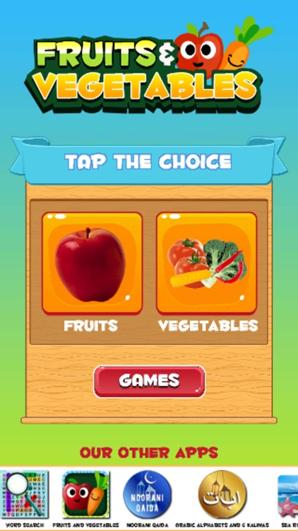 Learn Vegetables and Fruits screenshot-0