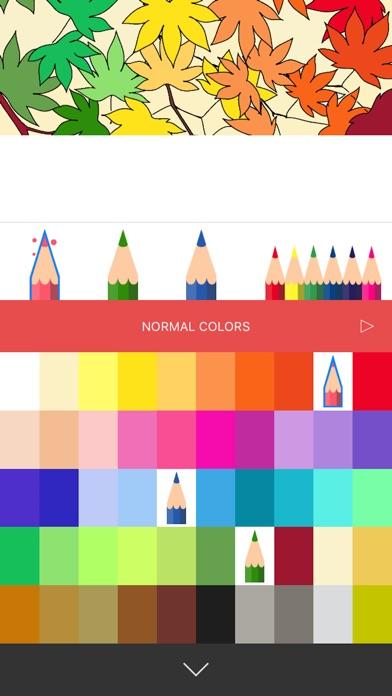大人の塗り絵 Colorgram : ひみつの花園スクリーンショット5