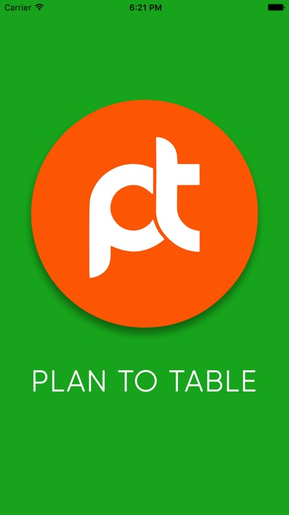 Plan to Table