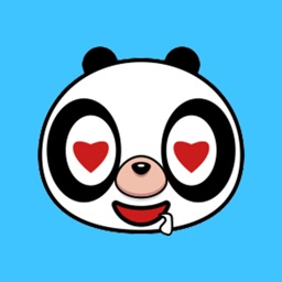 Lovely Panda Animated Stickers