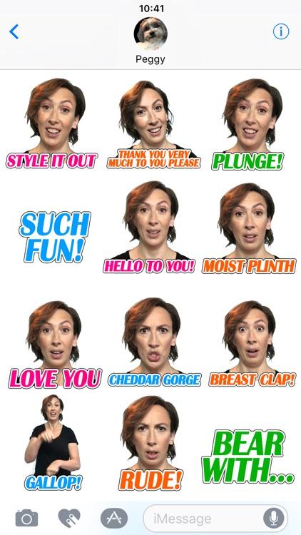 Miranda Hart Stickers screenshot-4