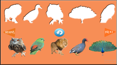 Enjoyable Animals Stencil Game for Toddlers