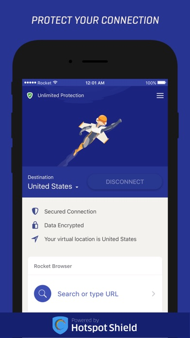 Rocket VPN – VPN Proxy Anonymous Browsing app image