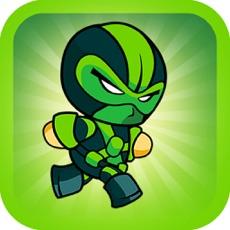 Activities of Killer Robot Game - Green Ninja Version