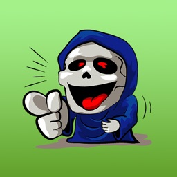 The Reaper Expression Sticker