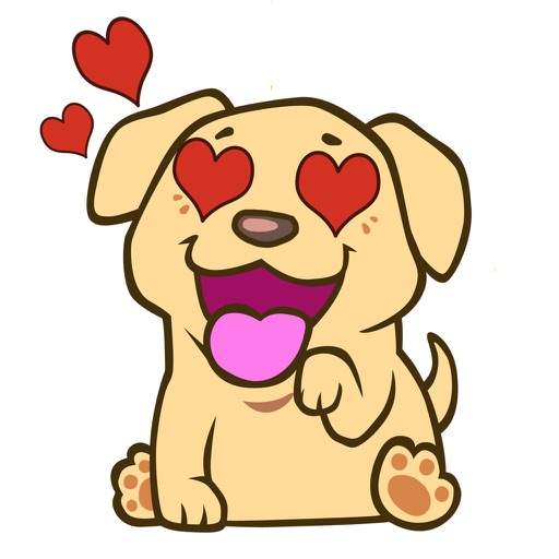 LabLoversMoji - Labrador Retriever Emoji Stickers