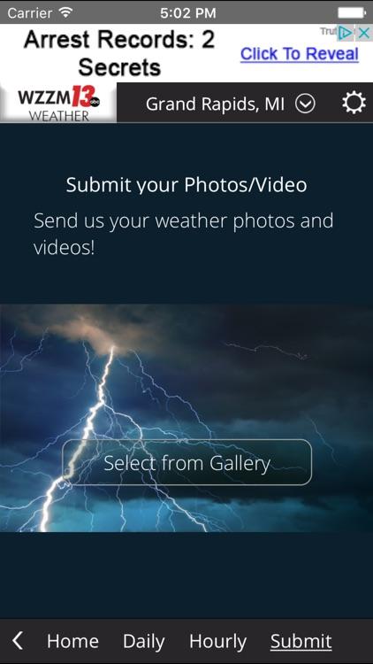WZZM 13 Weather screenshot-3
