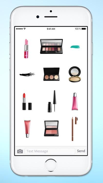 I love Makeup Realistic Make Up Sticker Pack screenshot-4