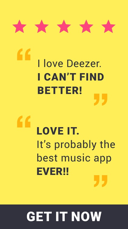 Deezer - Listen to your Favorite Music & Playlists screenshot-4