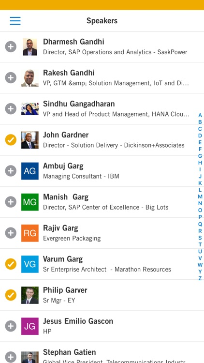 SAPPHIRE NOW and ASUG Annual Conference App screenshot-3