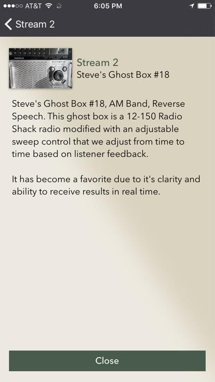 Live Ghost Box Stream 2