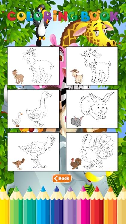 Total Animals Coloring Book - for Kid screenshot-3