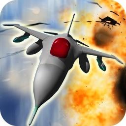 Jet Fighter Air Assault Ops: Aerial Combat Strike