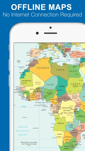 World map 2017 free on the app store iphone screenshots gumiabroncs Choice Image