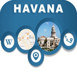 Havana Cuba City Offline Map Navigation EGATE