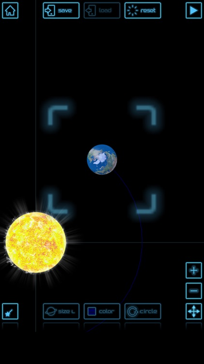 Planet simulation screenshot-1