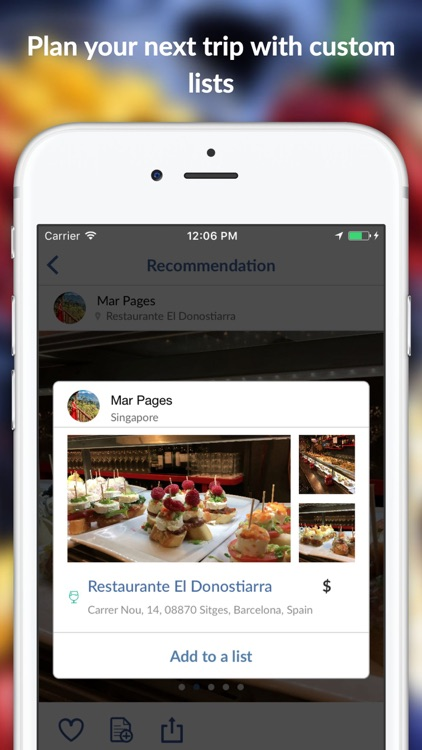 Zipkick: Local Food Drink & Wine Bar Social Review screenshot-3