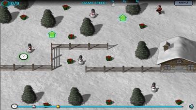 Christmas Santa Claus Adventure  - Fight Snowman screenshot two