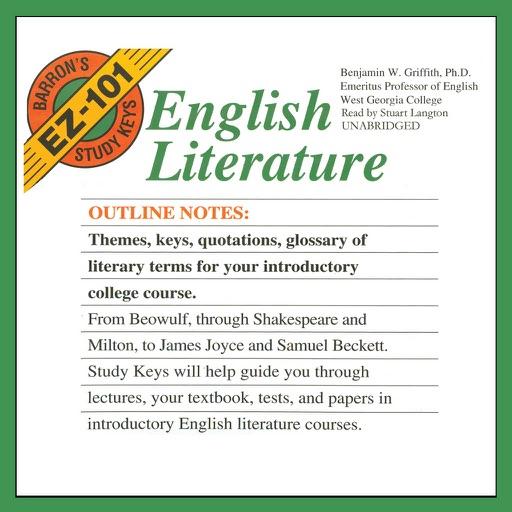 Barron's EZ-101 Study Keys: English Literature