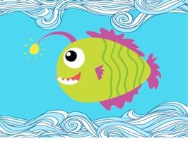 Fish Cute-Fc Sticker