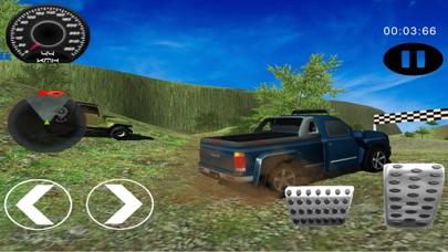 4x4 越野 驾驶 模拟器 : 吉普车 爬坡道 赛车 游戏 App 截图