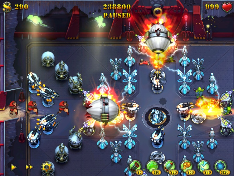 Fieldrunners for iPad screenshot-2