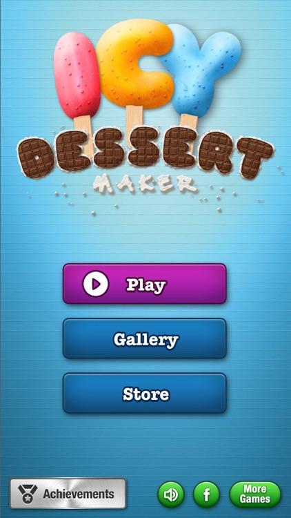 Icy Dessert Maker - Frozen Ice Cream Treats screenshot-4