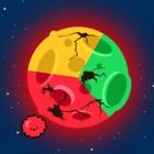 Rotación rotación planeta tormenta icon