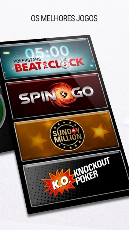 PokerStars: Jogos de Poker screenshot-4