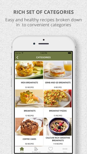 Healthy breakfast recipes and shopping list on the app store healthy breakfast recipes and shopping list on the app store forumfinder Images