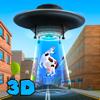 Cartoon Aliens Invasion: UFO Swarm Simulator Full