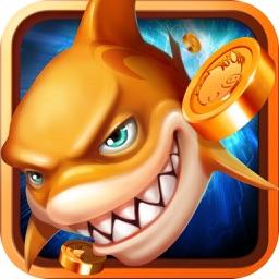 捕鱼游戏厅-欢乐一起捕鱼机街机版