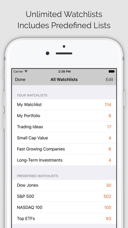 Stock Tracker Pro (ms) screenshot-1