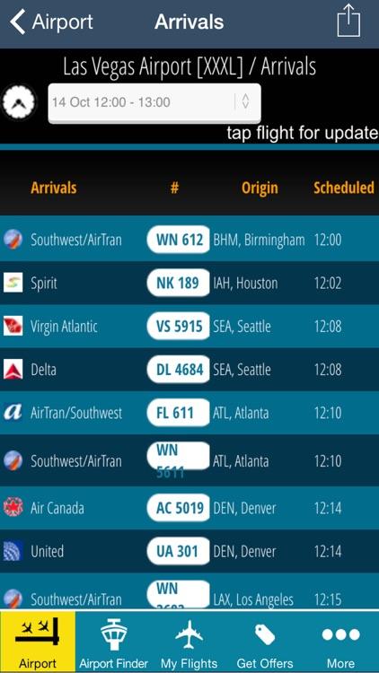 Las Vegas Airport Pro (LAS) + Flight Tracker