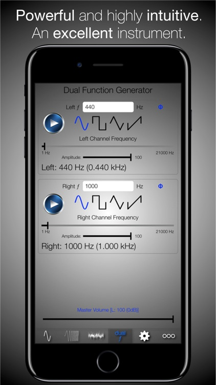 Audio Signal Generator PRO - incl. Sweeps & Noise screenshot-3