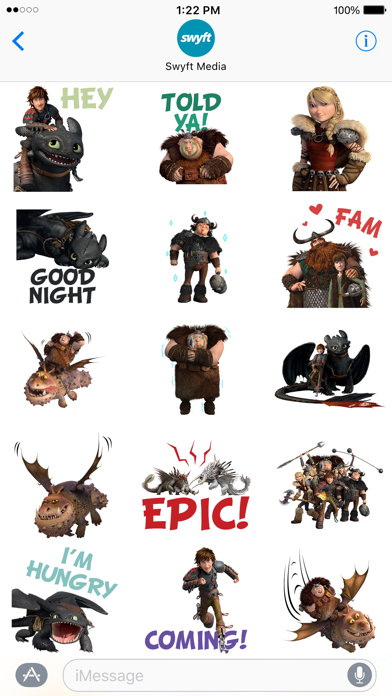 How To Train Your Dragon Stickers screenshot 3
