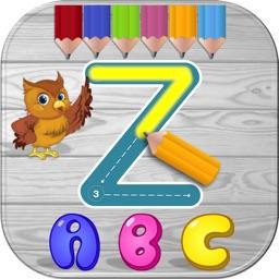 Writing ABC for Preschool Learn to Write Alphabet