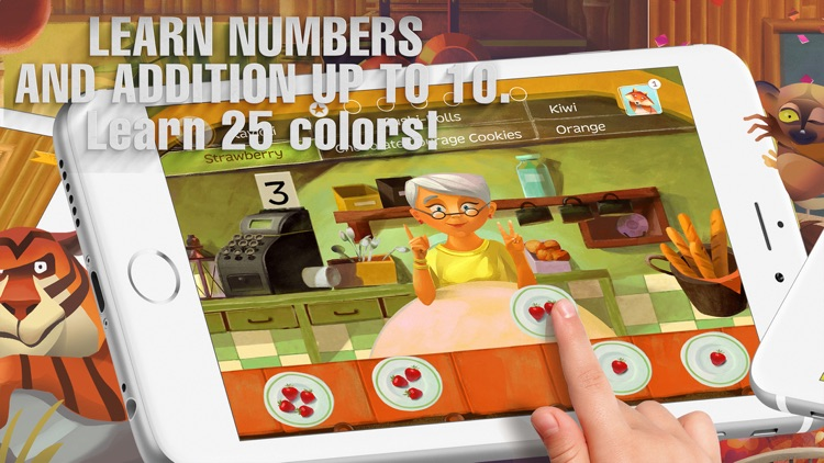 A Parcel of Courage book for kids with puzzles screenshot-3