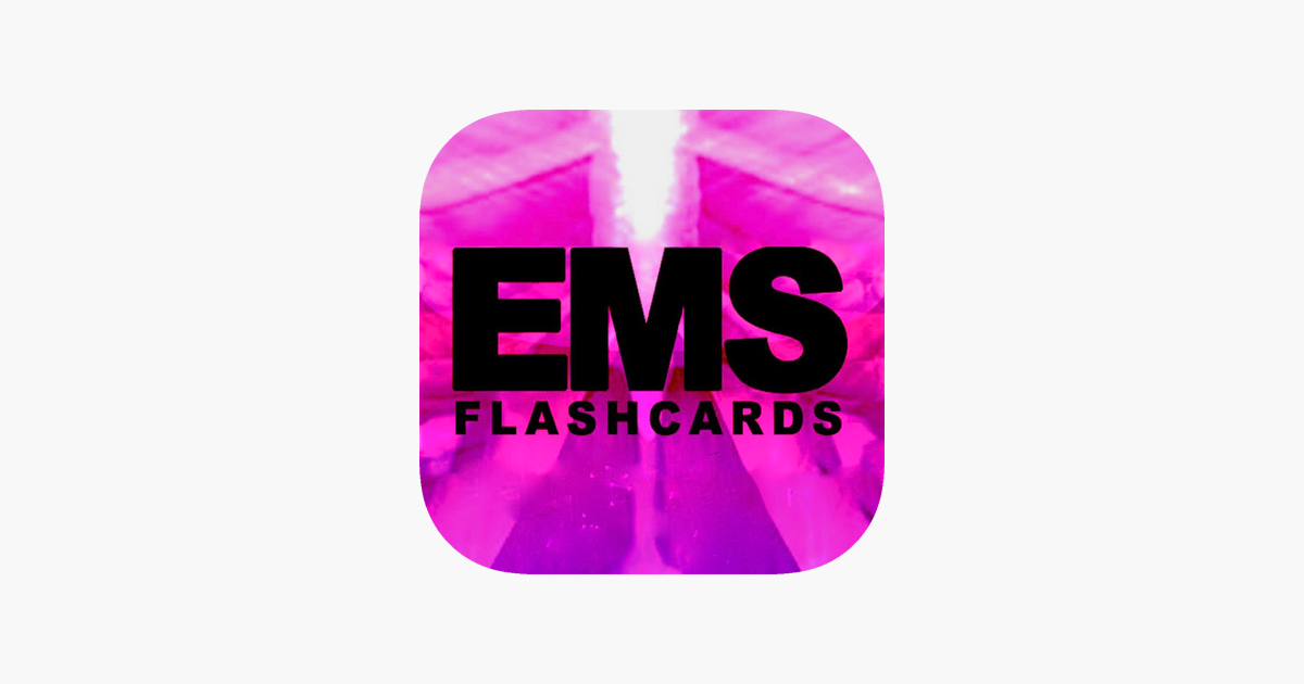 EMS Flashcards - Anatomy and Physiology Vocab on the App Store