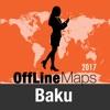 Bakú mapa offline y guía de viaje