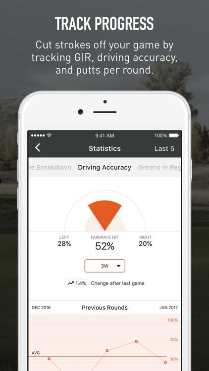VPAR - Golf GPS, Scorecards & Stats screenshot-3